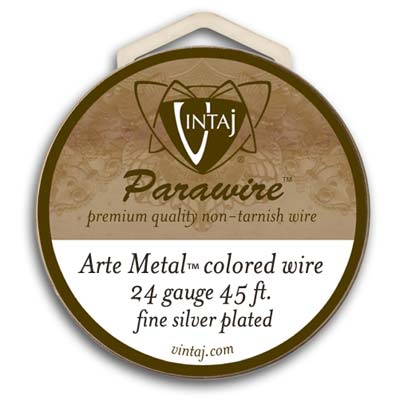 Vintaj by ParaWire - Wire 24g Arte Metal (100FT)
