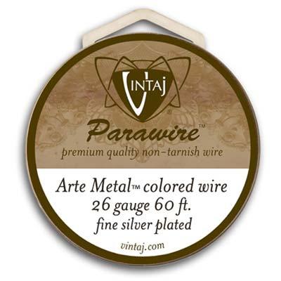 Vintaj by ParaWire - Wire 26g Arte Metal
