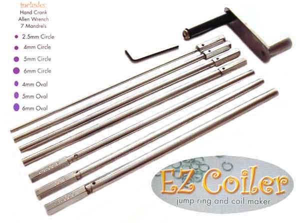 EZ Coiler - Jump Ring & Coil Maker - Beadsmith