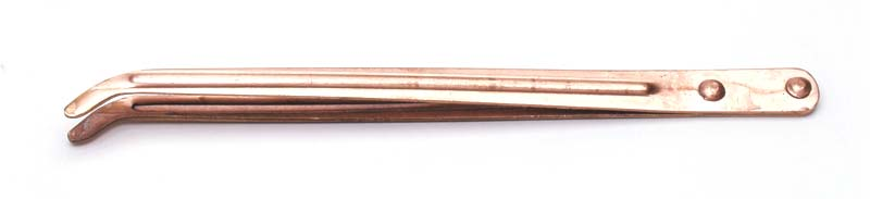 Tweezers ~ Copper Pickling Tweezer ~ Jewellers Tool