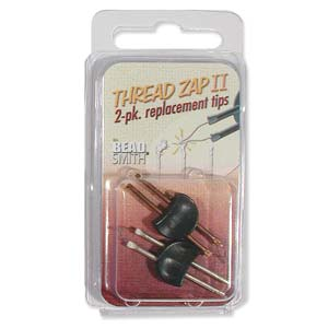 Thread Zap II - Zapper Replacement Tips - 2-Pack