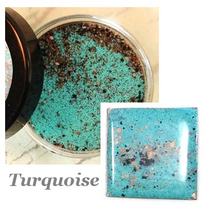 ICED Enamels® – Turquoise Relique Powder 15ml