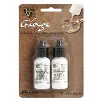 Vintaj Matte & Gloss Glaze Mini Pack .5oz. (15ml) by Ranger
