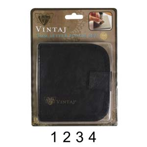 Vintaj Gothic Number 3mm 1/8 Stamping Set - Beadsmith