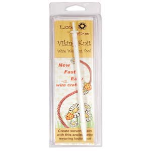 Lazee Daizee - Viking Knit Wire Weaving Tool 1/4 inch with 6 Head Insert