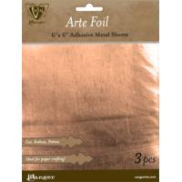 Ranger, Vintaj Arte Foil - Copper 6x6in Adhesive Metal Sheets (1pc) (Dented)