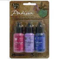 Vintaj Patina Kit Pack, Antique Window by Ranger x3 0.5oz Bottle Pack