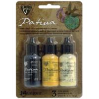 Vintaj Patina Kit Pack, Retro Highway by Ranger x3 0.5oz Bottle Pack