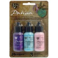 Vintaj Patina Kit Pack, Victorian Gable by Ranger x3 0.5oz Bottle Pack