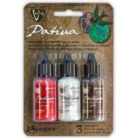 Vintaj Patina Kit Pack, Painted Barn by Ranger x3 0.5oz Bottle Pack