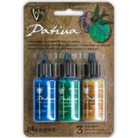 Vintaj Patina Kit Pack, Faded Pickup by Ranger x3 0.5oz Bottle Pack