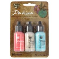 Vintaj Patina Kit Pack, French Riviera by Ranger x3 0.5oz Bottle Pack