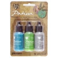 Vintaj Patina Kit Pack, Santa Fe Market by Ranger x3 0.5oz Bottle Pack