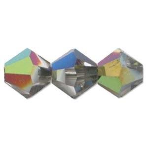 Swarovski Crystal Beads Bicone 6mm Crystal Vitrail Med