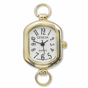 Watch Face for Beading Looped ~ GOLD - 03