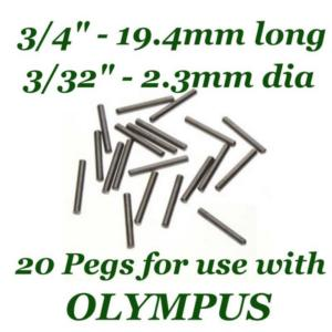 Beadsmith WigJig Pins #1 20pc, for Olympus Wig Jig