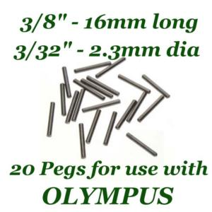 Beadsmith WigJig Pins #2 20pc, for Olympus Wig Jig