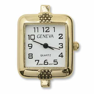 Watch Face for Beading - Gold - 06
