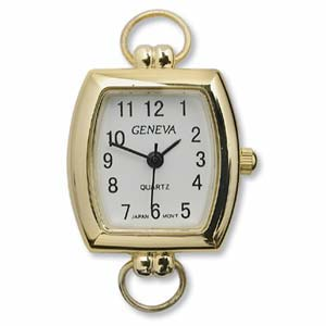 Watch Face for Beading Looped ~ GOLD - 04