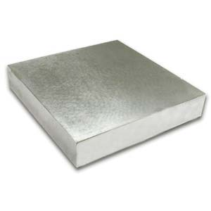 Bench Block Steel (100x100x12mm) 4x4 inch Jewellers Tool