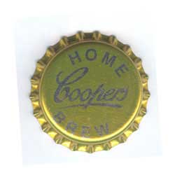 Bottle Caps - 32mm Coopers Home Brew x1