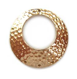 Pure Brass ~ Anti Tarnish ~ Hammered Chandelier Pendant x1