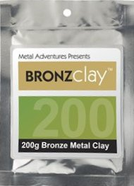 BRONZclay™ - Bronze Metal Clay - 200g