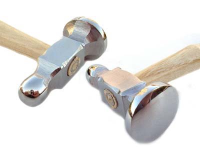 Chasing Hammer - 1 1/8 inch Face 4oz Beadsmith Jewellers Tool x1