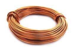 Aluminium Wire 18 gauge (1mm) x39ft (12m) Copper