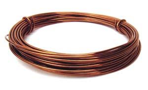 Aluminium Wire 12 gauge (2mm) x39ft (12m) Copper