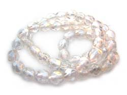 Czech Fire Polished beads 4mm Luster Crystal x50