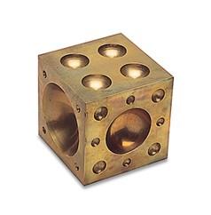 "Dapping Block - Bronze 2x2""~ Jewellers Tool"
