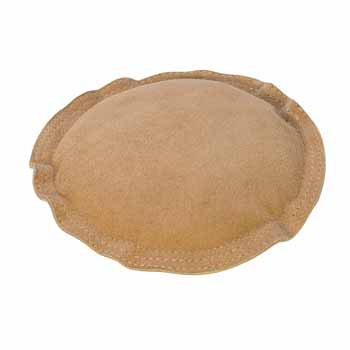 "Bench Block/Leather Sandbag Pad 5"" Round Jewellers Tool"