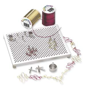 Thing-A-Ma-Jig, WigJig, Wig-A-Ma-Jig Deluxe Jig Wireworking Pegboard Tool