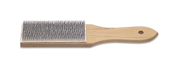 Eurotool Metal Jewellers Files Cleaning Brush x1