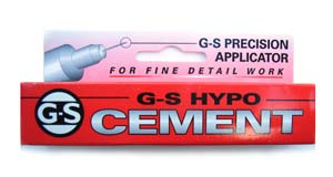 G-S Hypo CEMENT - Jewellery Glue - Precision Applicator