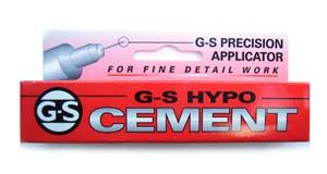 G-S Hypo CEMENT - Jewellery Glue - Precision Applicator