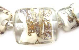 SOLD - Artisan Glass Lampwork Beads ~ Kunama Set ~ Ian Williams
