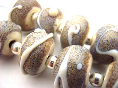 SOLD - Artisan Glass Lampwork Beads ~ Special Commission