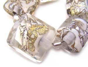 SOLD - Artisan Glass Lampwork Beads ~ Kunama II Set ~ Ian Williams