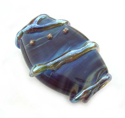"Tranquil Reflection II 1.3"" Focal Bead for Sandra"