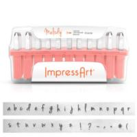 ImpressArt Melody 3mm Alphabet Lower Case Letter Metal Stamping Set