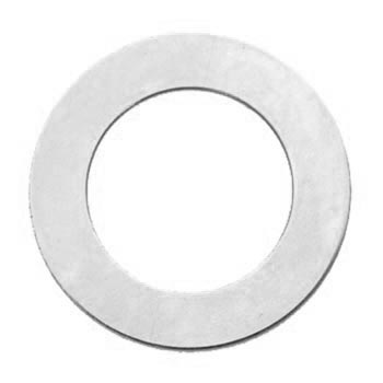 "Nickel Silver Washer 1 1/2"" 38mm od 25.5mm id 24g Stamping Blank x1"