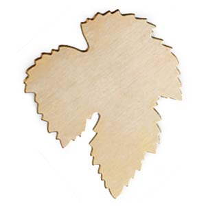 Brass Maple Leaf 24g Stamping Blank 52x40mm