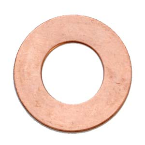 Copper Metal Stamping Blank, Washer (1 inch) 25mm 24ga x1