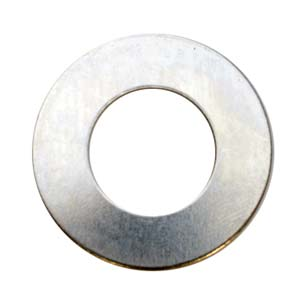 "Nickel Silver Washer 24g Stamping Blank 1"" 25mm"