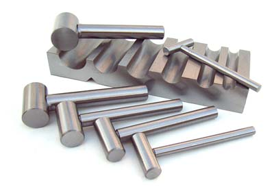 U-Channel Steel Block and Shaping Hammers Set, Jewellery Metalsmithing Tools