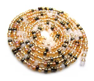 Czech Seed Beads 11/0 Honey Butter mini hank