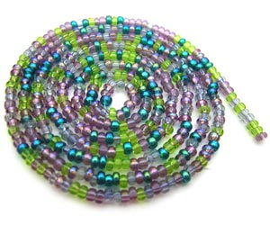 Czech Seed Beads 11/0 Lavender Garden mini hank