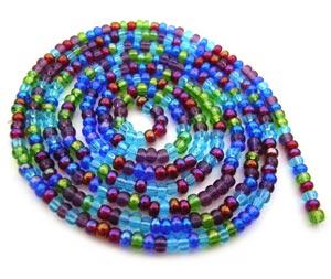 Czech Seed Beads 11/0 Gemtones mini hank